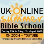 UK Online Summer Bible School 2020: Sunday 16th August