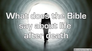 Exploring Bible teaching about Death...