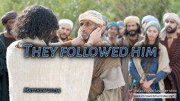 """Daily Readings & Thought for January 18th. """" ... AND FOLLOWED HIM"""""""