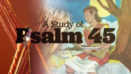 A detailed study of Psalm 45 .