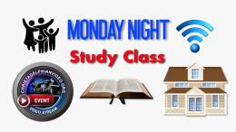 Monday Night Study Classes