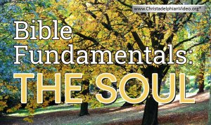 Bible Fundamentals: 'The Soul'