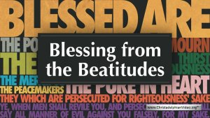 Blessing from the Beatitudes