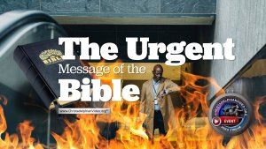 The Urgent Message of the Bible