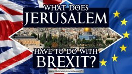 What does Jerusalem have to do with Brexit?