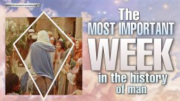 The Most important week in the history of man!