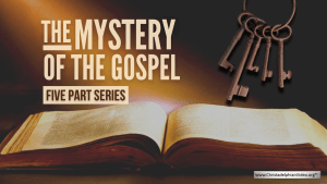 The Mystery of the Gospel 5 video Series