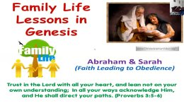Family Life Lessons in Genesis: Abraham and Sarah