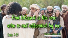 """Daily Readings & Thought for September 15th. """"BLESSED IS THE ONE WHO …"""""""