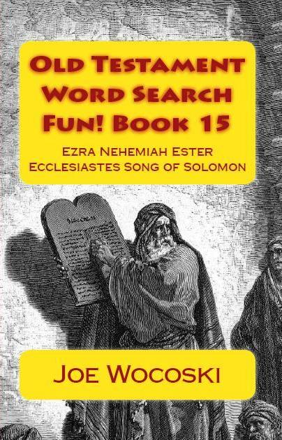 Old Testament Word Search Fun! Book 15