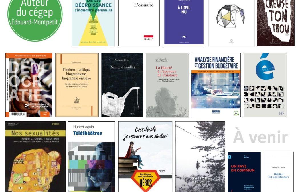 Hommage aux auteurs 2018