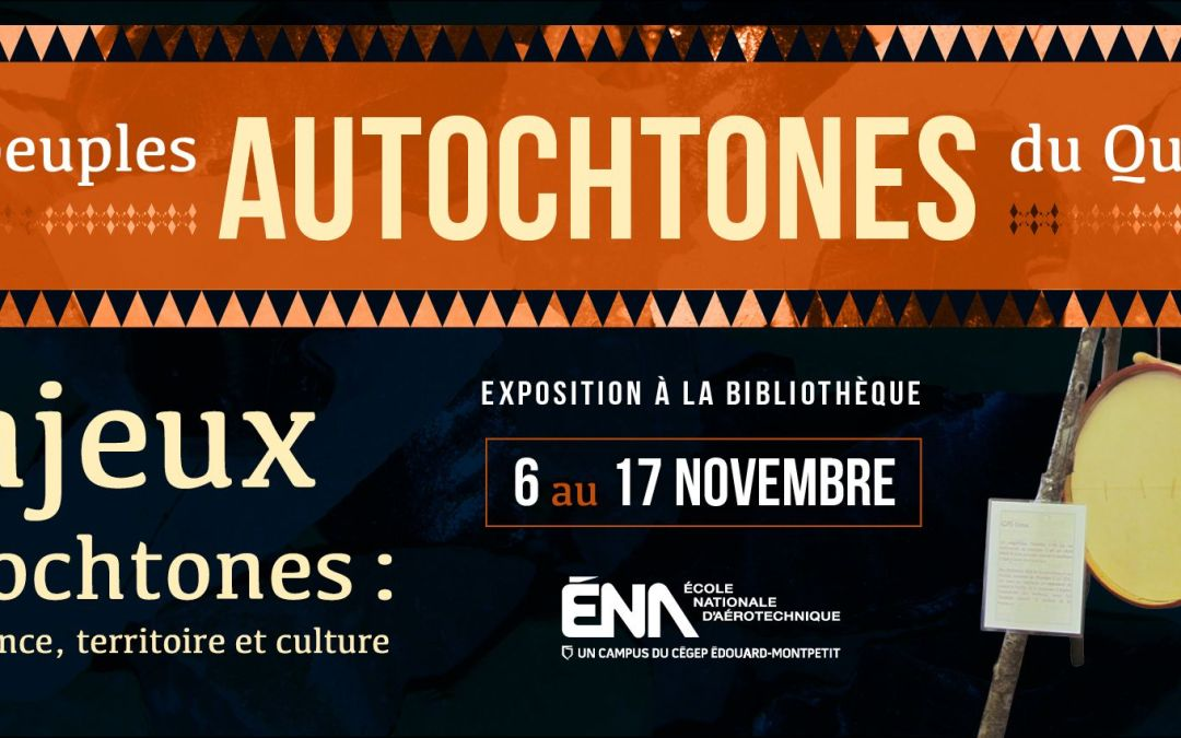 Enjeux autochtones : gouvernance, territoire et culture… à la bibliothèque de l'ÉNA