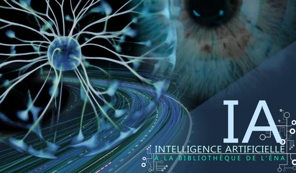 Exposition sur l'intelligence artificielle à la bibliothèque de l'ÉNA