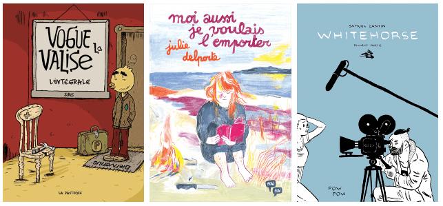 Finalistes au Prix de la critique de la bande dessinée québécoise 2018