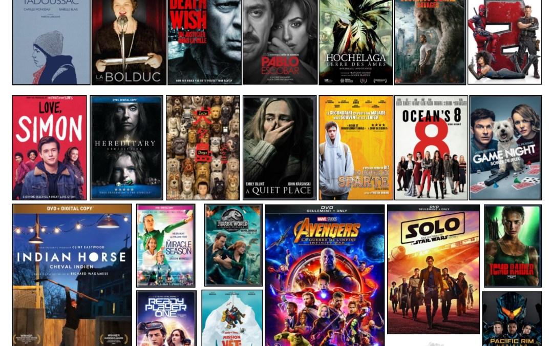 Nouveautés – Films à l'ÉNA – février 2019