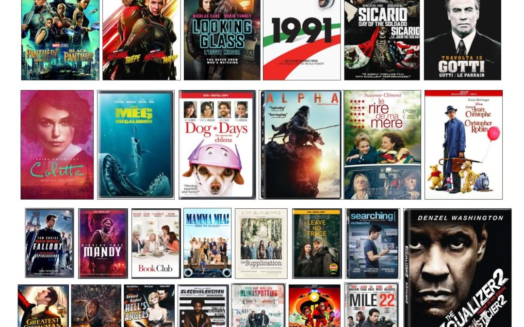 Nouveautés – Films à l'ÉNA – septembre 2019