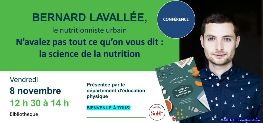 Bernard Lavallée à la bibliothèque du campus de Longueuil