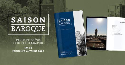 Le dernier numéro de la revue Saison Baroque disponible à la bibliothèque !