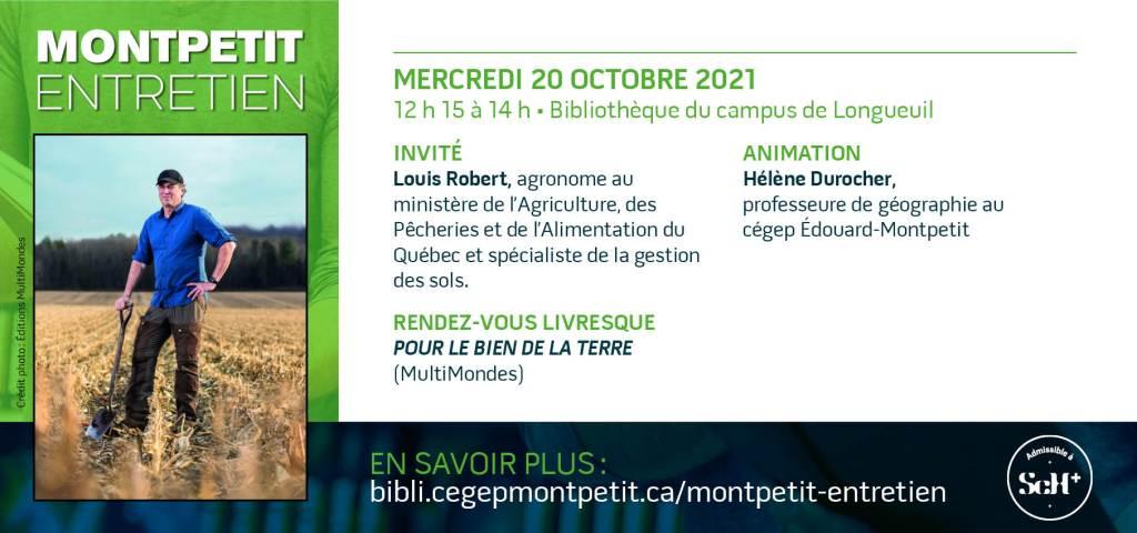 """Louis Robert invité du """"Montpetit entretien"""" ce mercredi"""