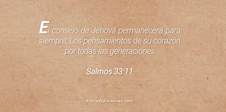 salmos 33:11
