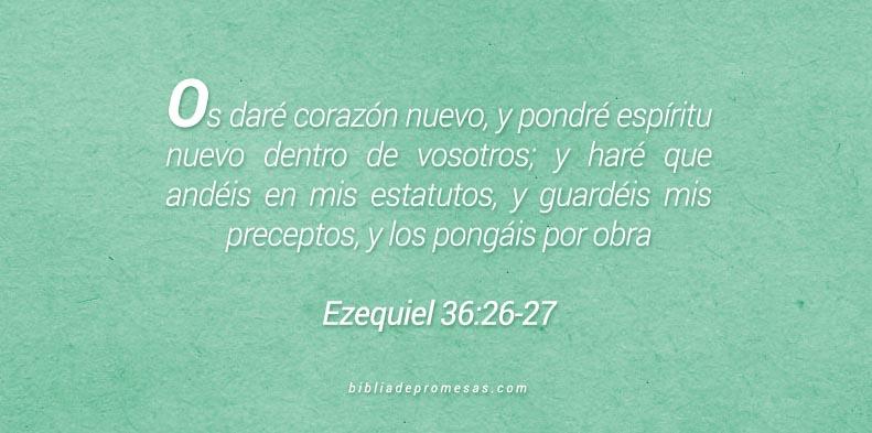 Ezequiel 36:26-27