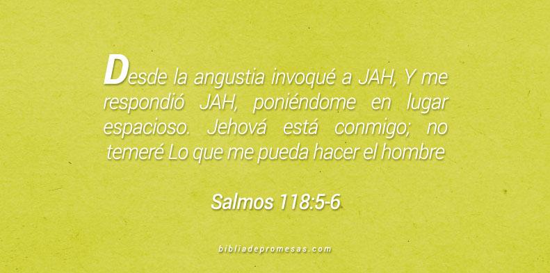 Salmos 118:5-6