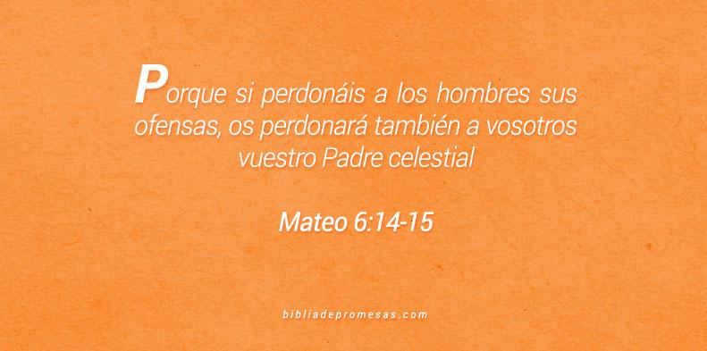 Mateo 6:14-15