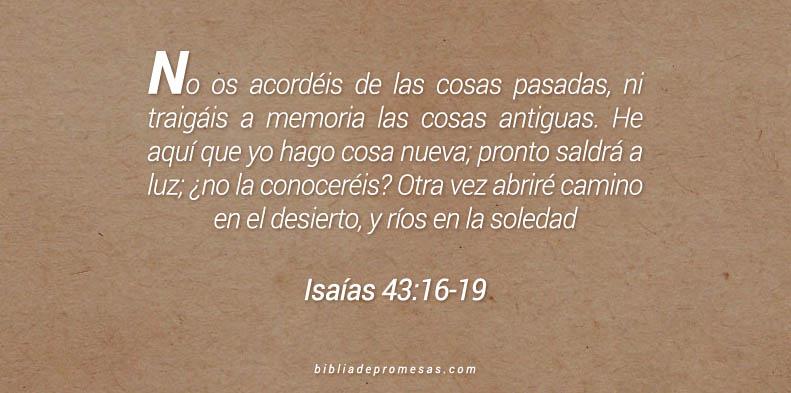 Isaías 43:16-19