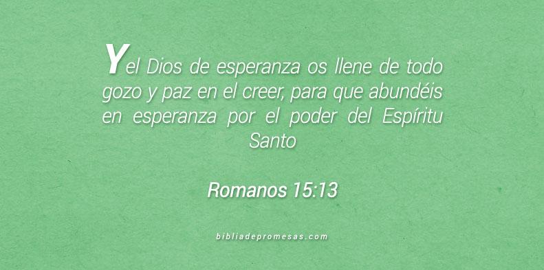 Romanos 15:13