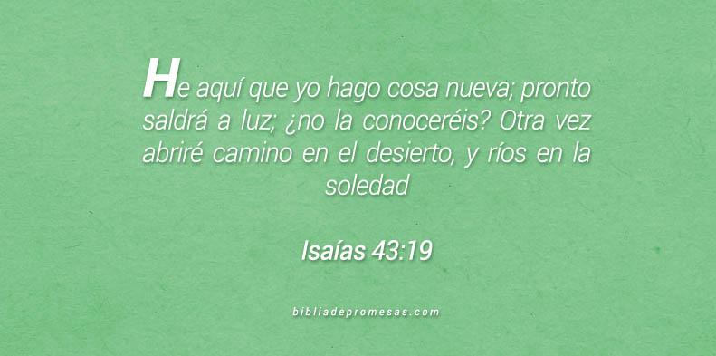 Isaías 43:19