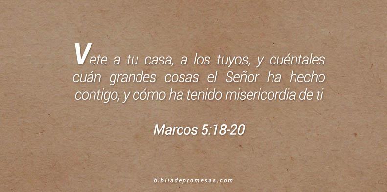 Marcos 5:18-20