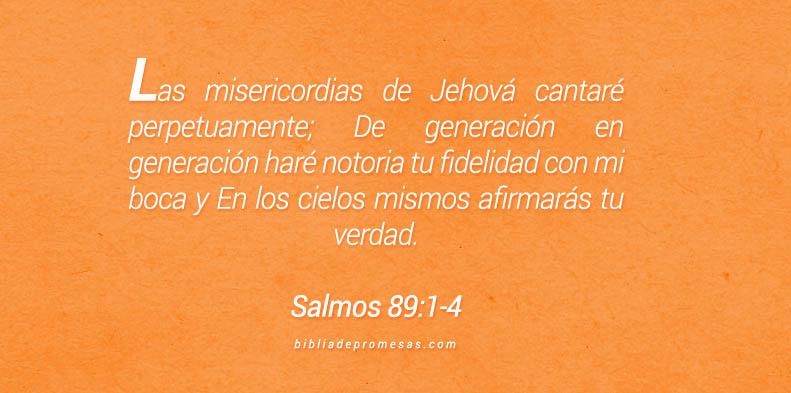 Salmos 89:1-4