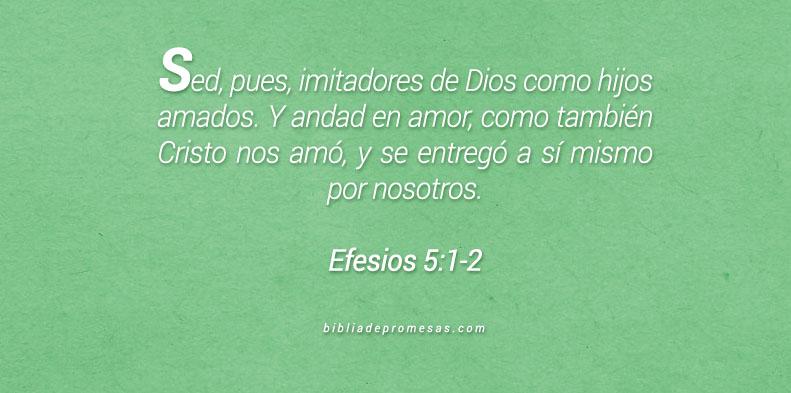 Efesios 5:1-2