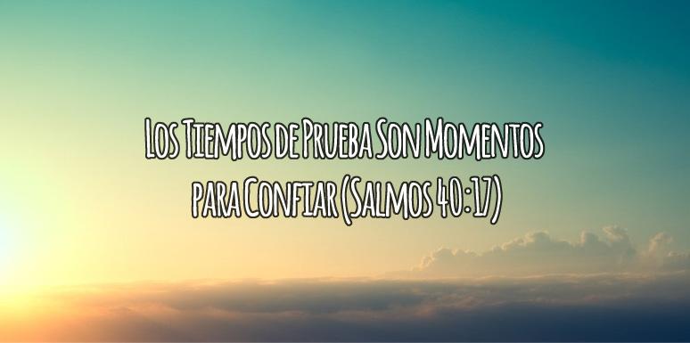 Momentos Para Confiar en Dios