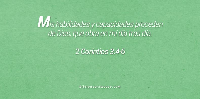 2 Corintios 3:4-6