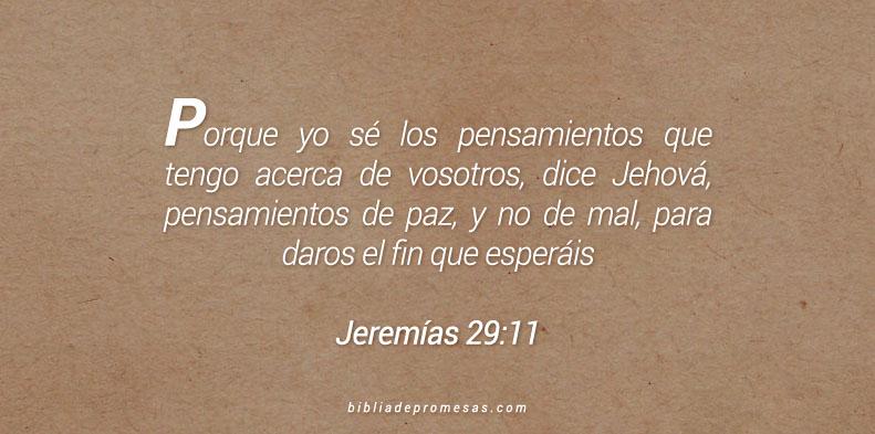 Jeremías 29:11