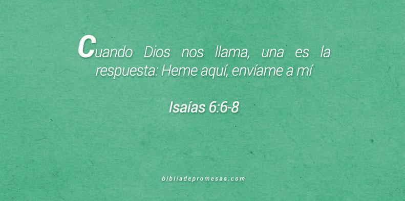 Isaías 6:6-8