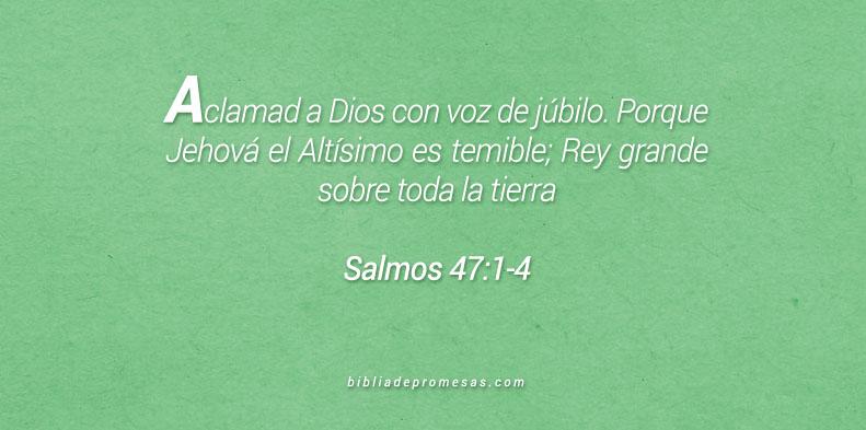 Salmos 47:1-4