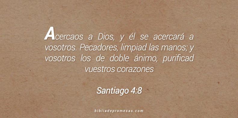 Santiago 4:8
