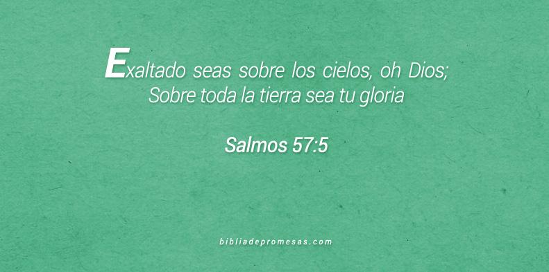 Salmos 57:5