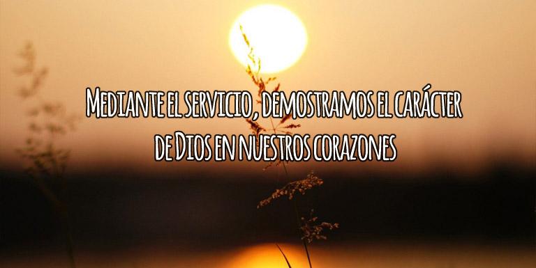 Al servicio de Dios