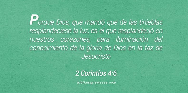 2 Corintios 4:6