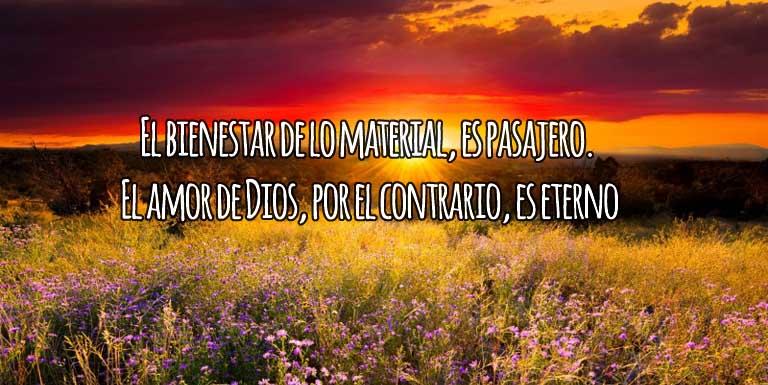 El Amor de Dios es eterno