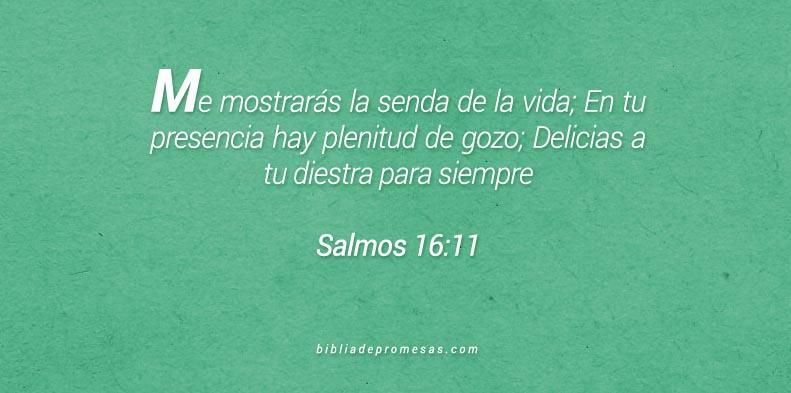 Salmos 16:11