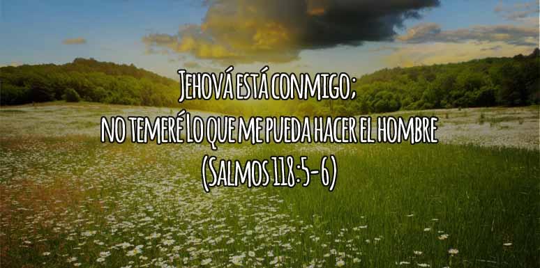 No temeré junto a Dios