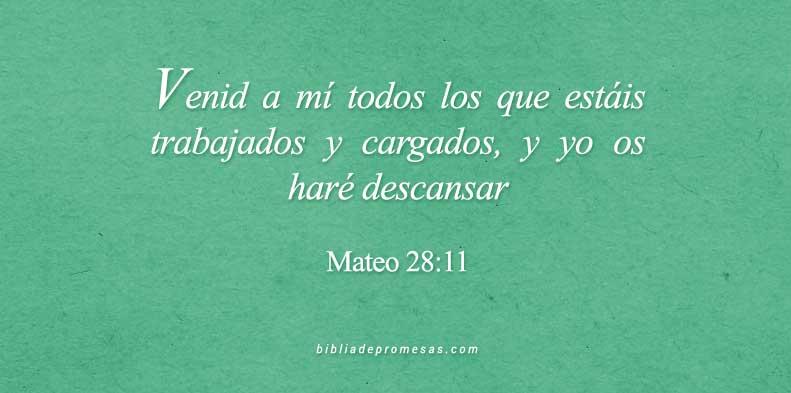 versículos de descanso