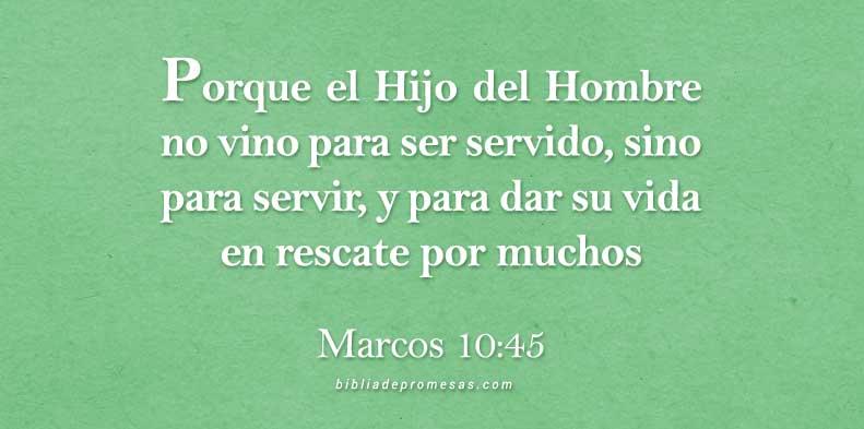 Marcos 10:45