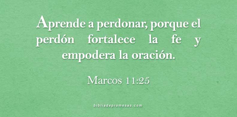Versículo Diario Marcos 11 25
