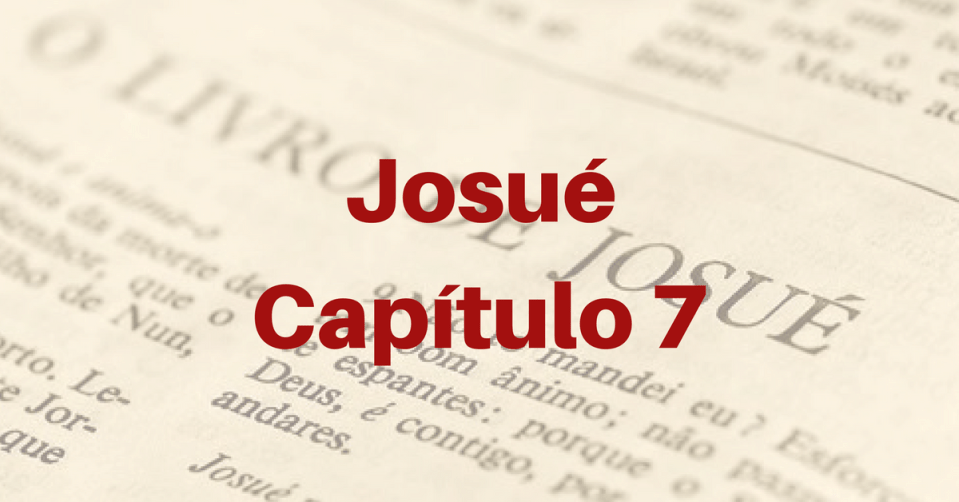 Josué Capítulo 7