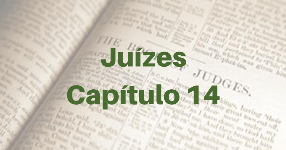 Juízes Capítulo 14